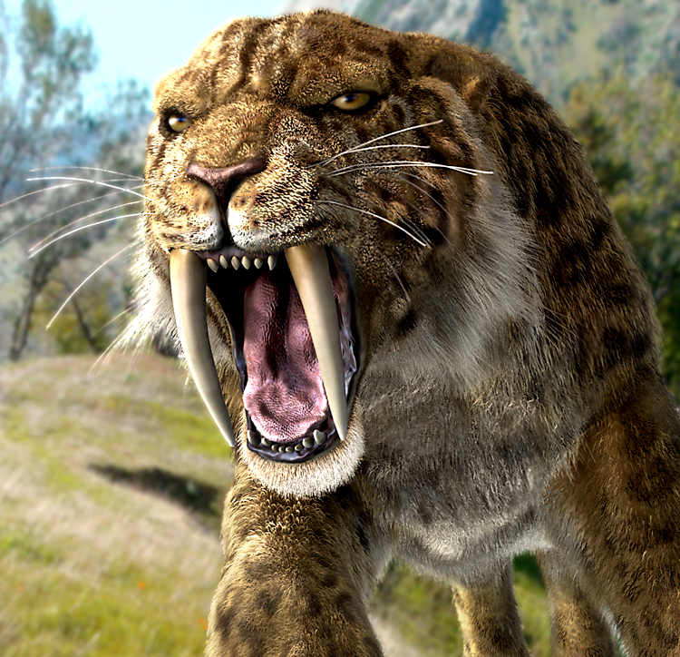 Image result for stone age smilodon