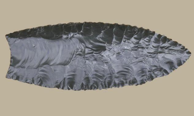 Clovis point | pleistoscenery